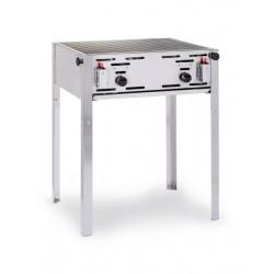 Hendi Roast-Master met Rooster Gasbarbecue Propaan Butaan Slagersbarbecue