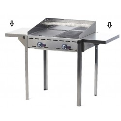 Zijblad voor de Green Fire gas barbecue