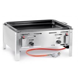 Hendi Bake-Master Model Maxi Gasbarbecue met bakplaat