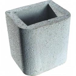 Buschbeck opzetstuk/schoorsteen grijs